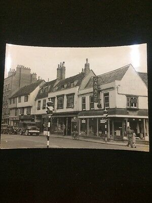 Authentic WWII Photograph Of Cambridge, England Crown Copyright Reserved