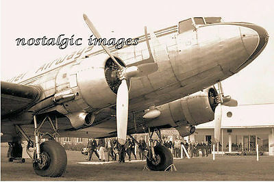 Image Taken From A 1960' Image Of Dakota  Of Channel Airways  - Ipswich Airport