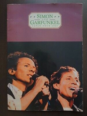 Simon and Garfunkel in Concert JAPAN Tour 1982 Program tour book  Very Rare