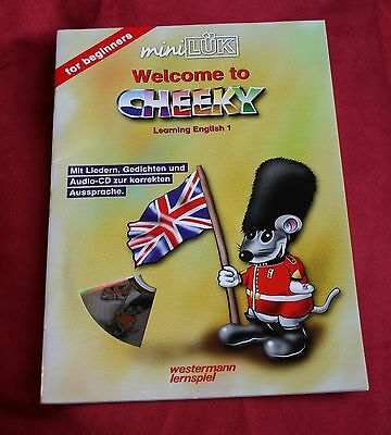 mini LÜK - Welcome to Cheeky - Learning English 1, mit Audio-CD - NEU