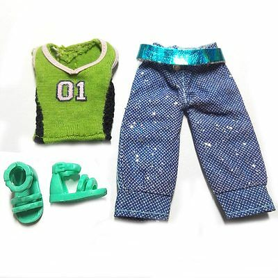 """Barbie Doll 4.5"""" Kelly Fashion Clothes Shoes for barbie sister kelly dolls"""