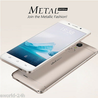 4G LTE Ulefone Metal Cellulare Smartphone Android6.0 3GB+16GB 8Core 13MP 3050mAh