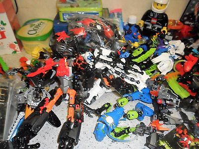 Lego - Hero factory. and Bionicles - Job Lot - Over 30 Figures / Instructions
