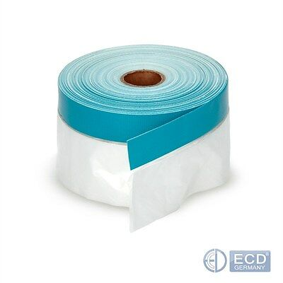 1/5/10/20/30/40/60x FABRIC MASKER COVER TAPE UV PAINTER BAND 550mmx20m FOIL MASK