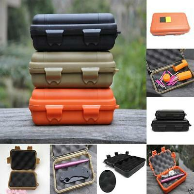 Outdoor Plastic Waterproof Airtight Survival Case Container Storage Box 1pc LH