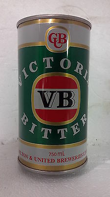 Victoria Bitter VB 750ml  Beer Can