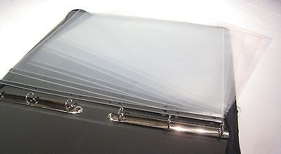 Clear Plastic A2 Artist Display Presentation Sleeves, 5,10,25,100