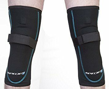 Spada Motorcycle / KEVLAR Jeans Knee Armour Protection - Black [Pair]