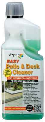 Azpects Professional Patio & Deck Cleaner - 1 Ltr Conc makes 16 litres