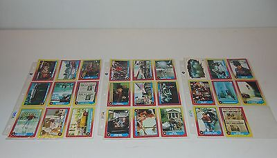 26 Back to the Future Part II 2 1989 Topps Trading Collectors Cards + Sleeves