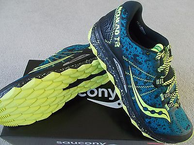Mens Saucony Nomad Tr Trailrunning Shoes/trainers Uk9 1/2 Eu44.5 S20287-1 Rrp£95