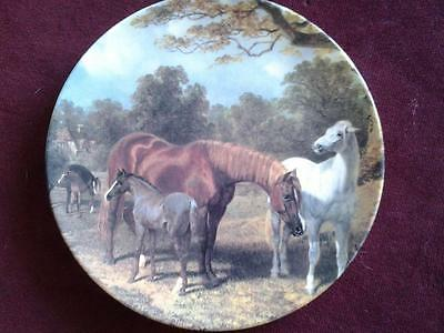 Royal Doulton Grazing In The Meadows Horse Plate Good Companions  Box + Cert