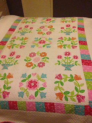 Single Bed Girls Quilted Throw