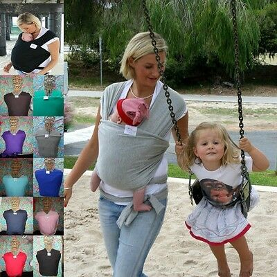 liberty sling baby stretchy wrap carrier grey Ideal For Breastfeeding