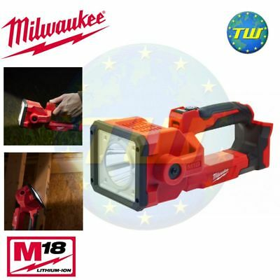 Milwaukee M18 M18SLED-0 18V LED TRUEVIEW Search Spot Light Torch Work Body Only