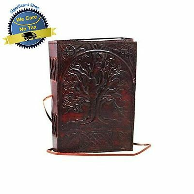 Tree of Life Leather Handmade Journal Diary Blank Book Notebook Writing Sketch