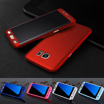 Full Protection Ultra Thin Shockproof Case Cover For Samsung Galaxy S6 S7 Edge