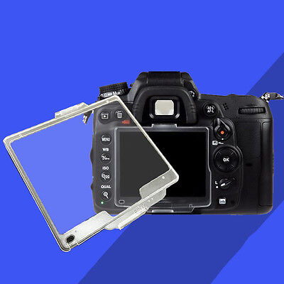 Transparent Hard Pastic LCD Screen Protector Monitor Cover BM For Nikon #W