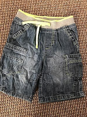 Boys Age 5-6 Denim Shorts