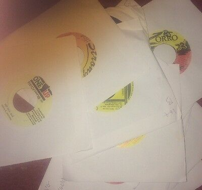 """15 X 7"""" REGGAE RECORDS BUNDLE ALL LISTED FAST POST 1990s"""