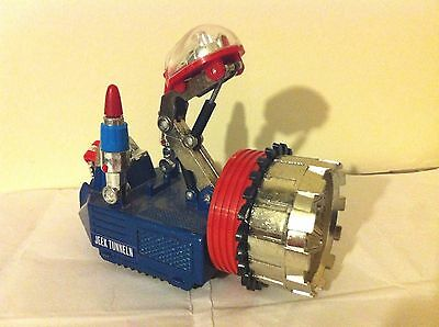 VERY RARE shinsei dia cast ufo commander 7 JEEK TUNNELN