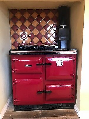 Gas Fired Central Heating Cooker AGA Rayburn Heatranger 480AG