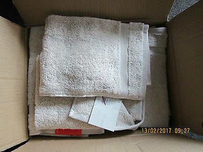 Job Lot Of John Lewis Guest Towels X 24 Suit Hotel New Rrp£120.00 Egyptian Cotto