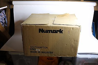 Numark DJ in a Box Pro Package-Vinyl/Record/Turntable Compact Mixer & Headphones