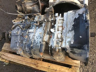 Iveco Eurocargo Parts Gearbox 9 Speed 2895.9 Used Running Gearbox