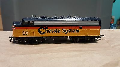 Bachmann F7 Engine Loco Ho Scale Chessie System C&o #7071 Excellent