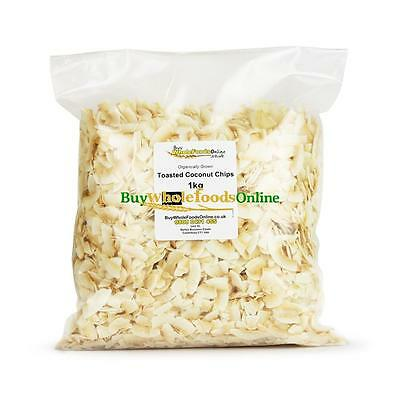 Organic Coconut Chips, Toasted 1kg