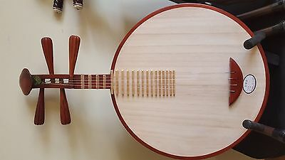 Brand new chinese banjo guitar Yueqin - authentic unique music gift