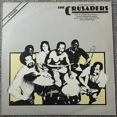 """The Crusaders - Four Tracks From...... 12"""" Vinyl EP   ABE 12013"""