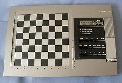 ideal gift kasparov cougar electronic chess computer by saitek