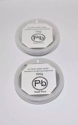Lead-Free Soldering Paste Pot 100g Type-862  Rohs