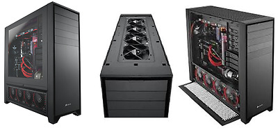 Corsair Obsidian Series 900D Super Tower Case, with Full Windowed Side Panel