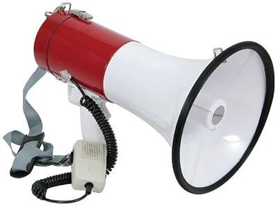 30W Megaphone with Siren, Robust ABS construction [952.019UK