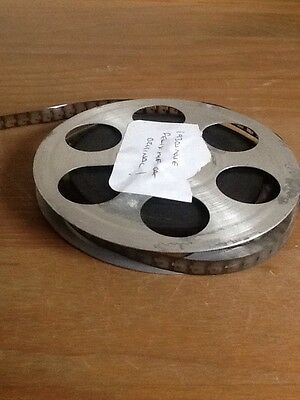 Projector Tape  reel with 1930s original felix the cat movie