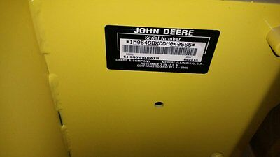 "John Deere 54"" Quick Hitch Snowblower"