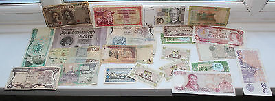 Vintage BANK NOTE Collection including, Germany, Canada, Egypt, China and others