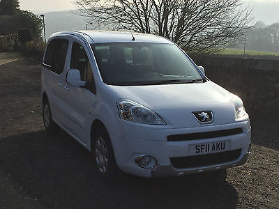Peugeot Partner Tepee 1.6 HDI  Wheelchair Accessible Vehicle WAV  15,000 Miles