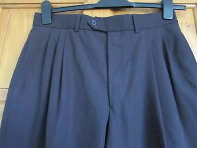 Rare M&S  northern soul / 50s triple pleated turn up trousers W 32 X L 29