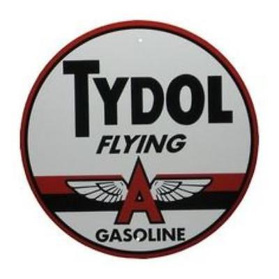 Tydol Flying Gas and Oil Company  Metal Sign