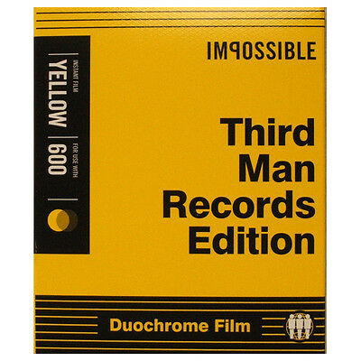 Impossible 600 Type Third Man Records Edition Instant Film - NEW