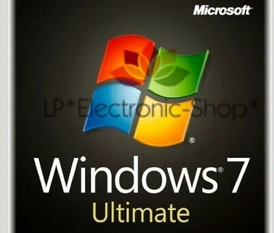 Microsoft Windows 7 Ultimate Esd 64 Bit 1 Pc - **originale** Fattura