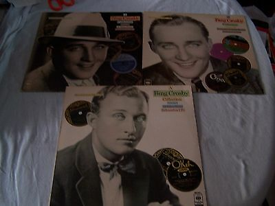 A Bing Crosby collection volumes 1, 2 & 3 on Vinyl LP - Vocal