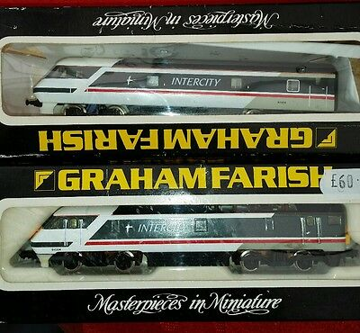 n gauge class 91 swan livery boxed