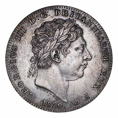 Great Britain George III Silver Coin 1820 Crown