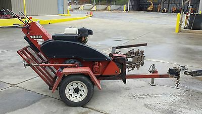 Walk-Behind Trencher, With Trailer