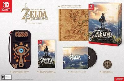The Legend of Zelda Breath Of The Wild Special Switch Edition GUARANTEED PRESALE